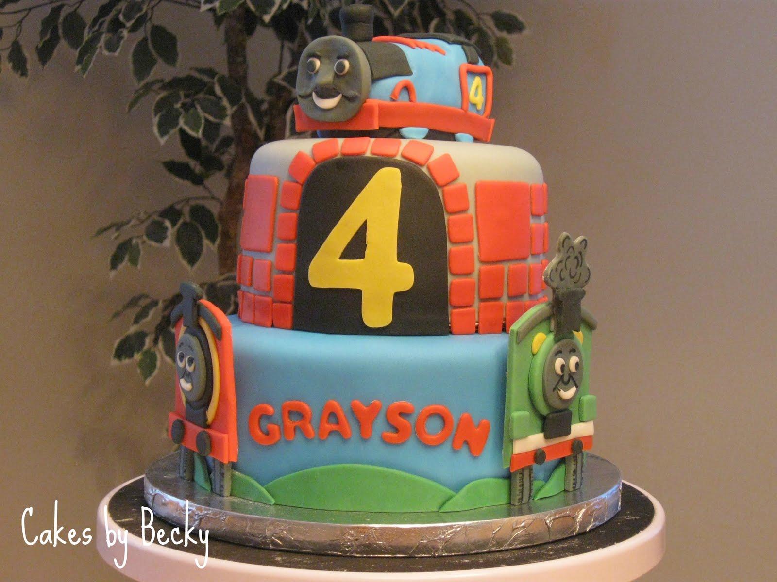Cakes By Becky Thomas The Tank Engine Birthday Cake