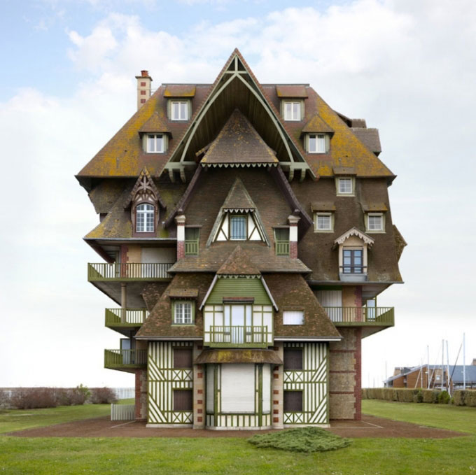 Weird news amazing and strange houses designs using photo for Amazing architecture house plans