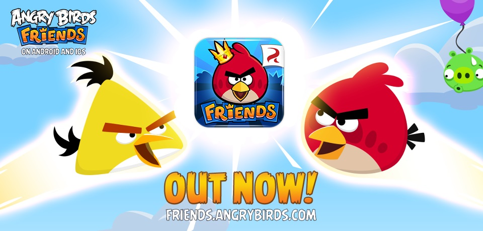 Angry Birds Friends for iOS and Android devices now ...