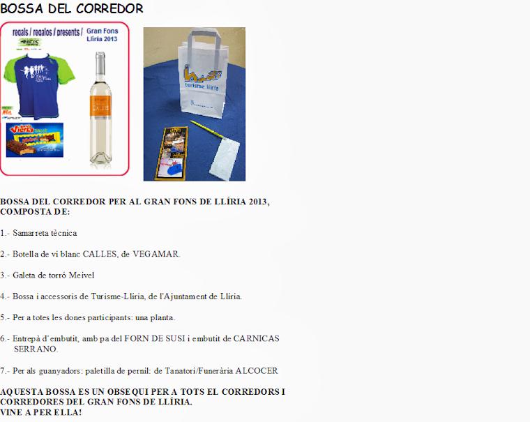 BOSSA/BOLSA DE CORREDOR