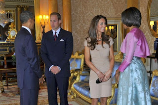 Kate Middleton Meets Michelle Obama