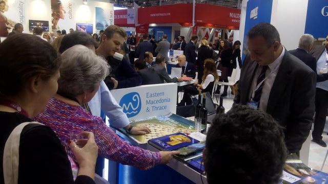 Εντυπωσίασε η Περιφέρεια Αν. Μακεδονίας - Θράκης στη Διεθνή Έκθεση Τουρισμού World Travel Market στο Λονδίνο