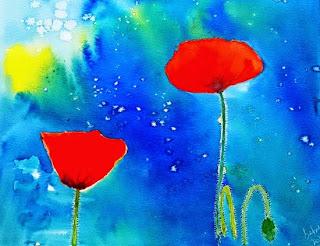 Red Velvet by Sarabjit Kaur ( part of her portfolio on www.indiaart.com)