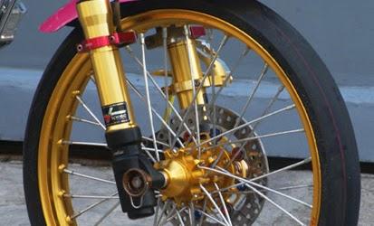 Rincian Harga Variasi Motor Tabung Shock Depan Terbaru 2015