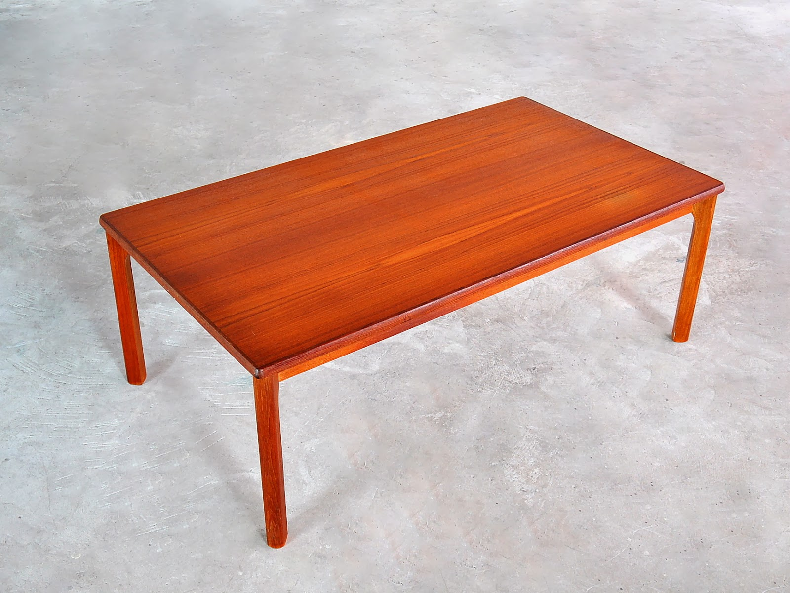 Select Modern Danish Modern Teak Coffee Or Cocktail Table