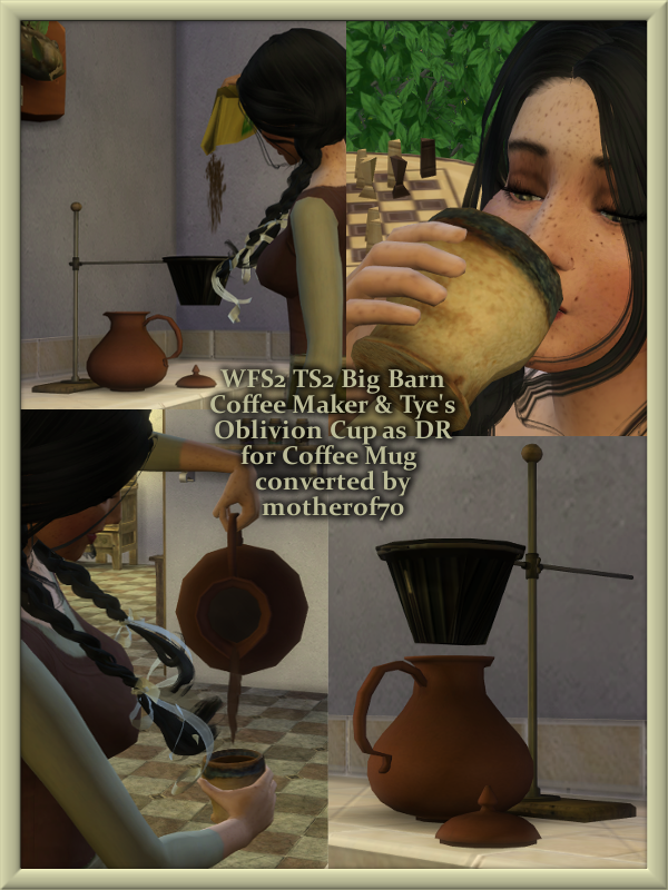 How To Use Coffee Maker In Sims Freeplay : Simulacra Medium Aevum: WFS2 Coffee Maker & DR Oblivion ...