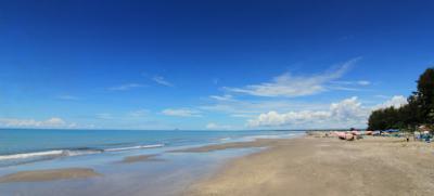 Tempat Objek Wisata Pantai Gandoriah Pariaman Sumatera Barat (Sumbar)