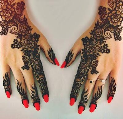 Bridal Mehndi Designs 2015 New Style