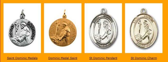 Saint Dominic Medal at StDominic.webhero.com