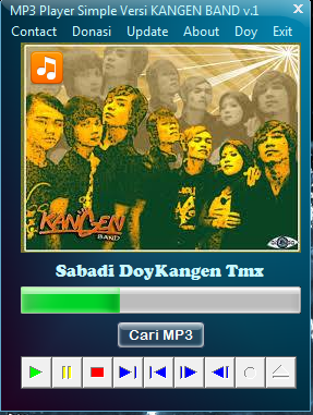 Download MP3 Player Simple Versi KANGEN BAND v.1