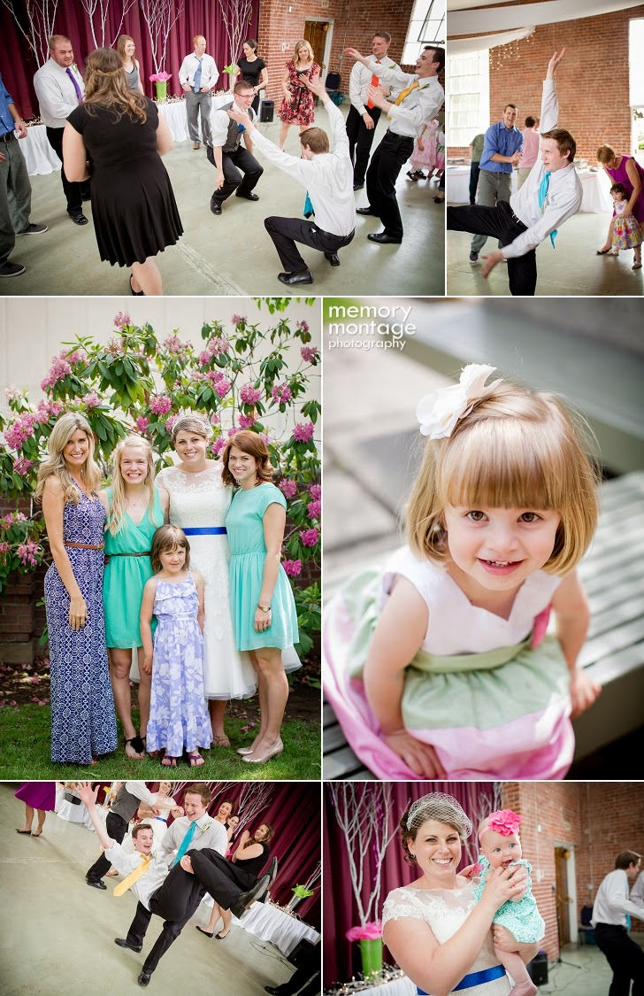 Le Chateau Yakima, WA Wedding Memory Montage Photography