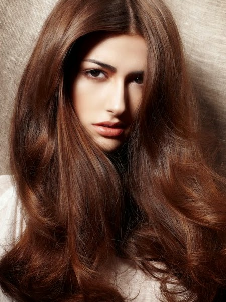 brown hair color for olive skin