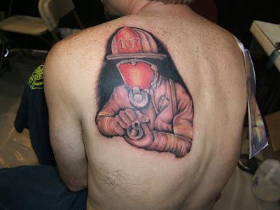 Tatuaje de Bomberos