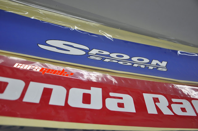 Spoon Sport windscreen honda racing