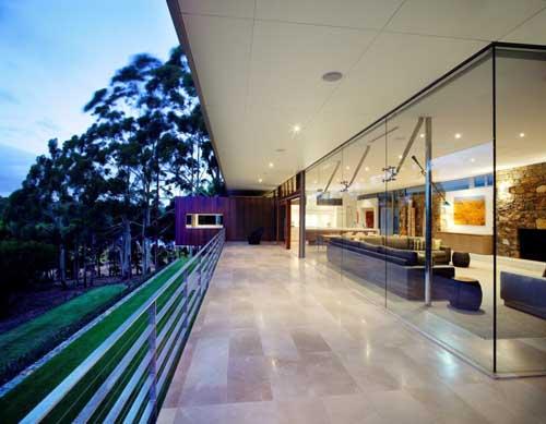 architecture Yallingup Residence terrace 2