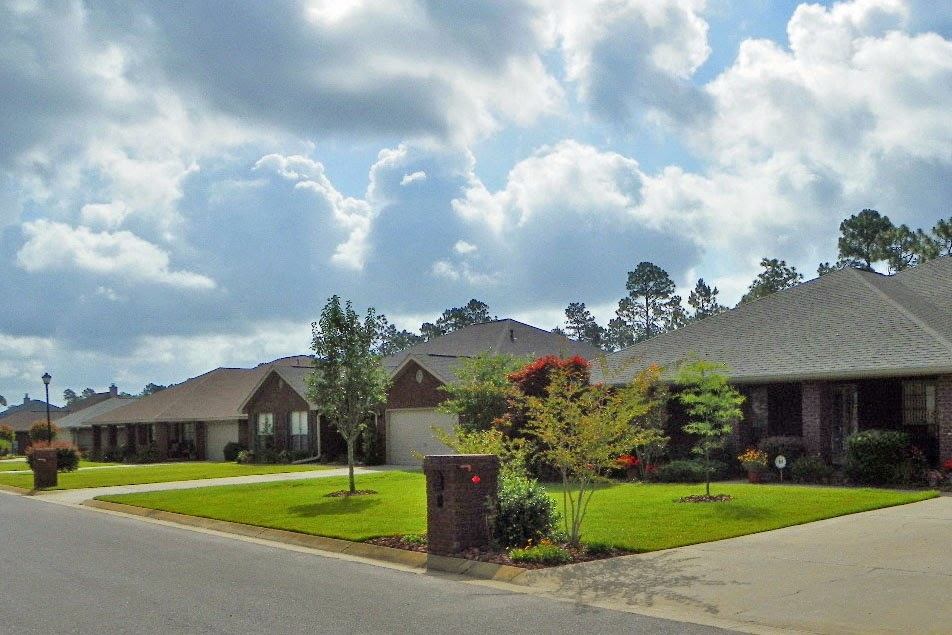 New construction subdivisions near NAS Pensacola