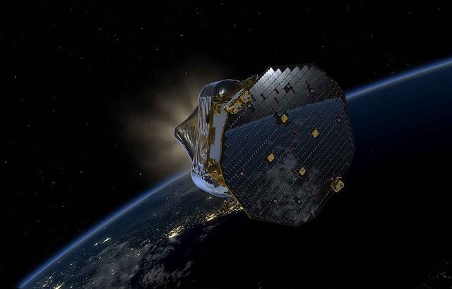 قمر صناعي جديد في الفضاء