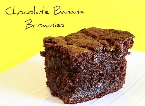 Lemon Drop: Chocolate Banana Brownies