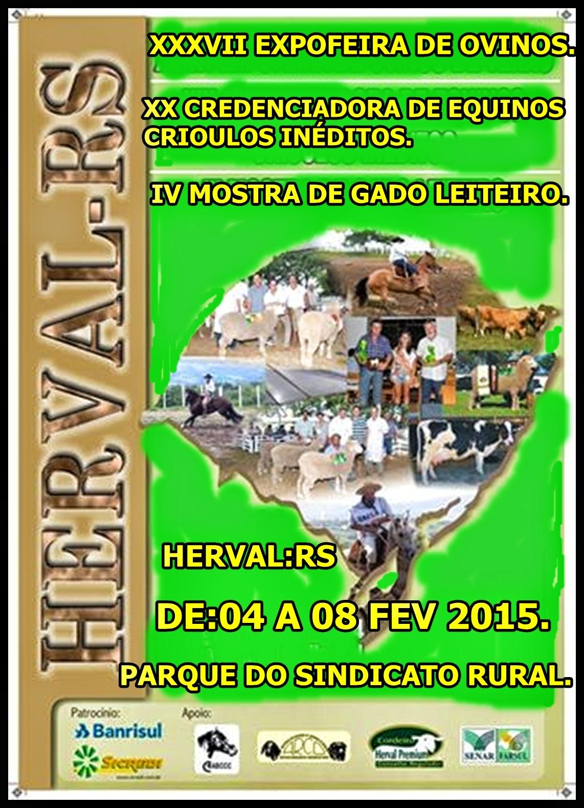 EXPO-FEIRA 2015 EM HERVAL.