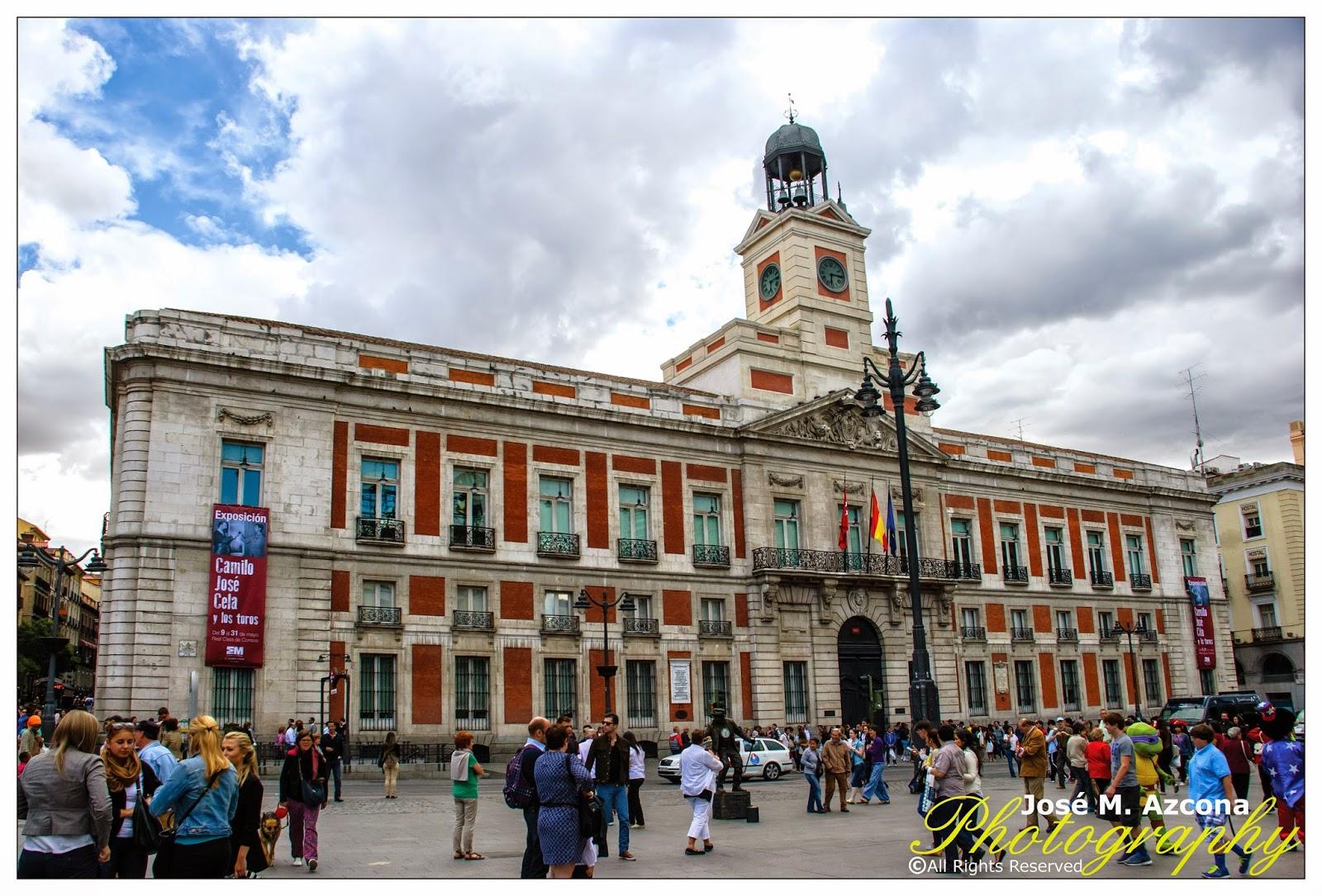 Real Casa de Correos (Presidencia de la Comunidad).