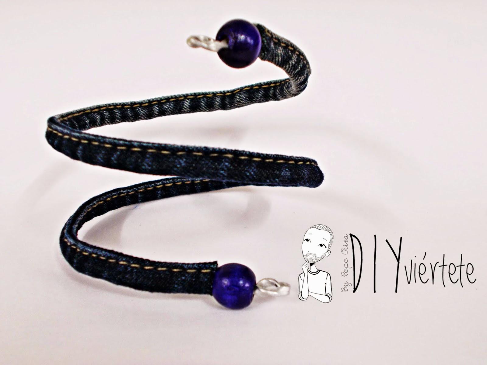 DIY-pulsera-brazalete-reciclar-vaquero-jeans