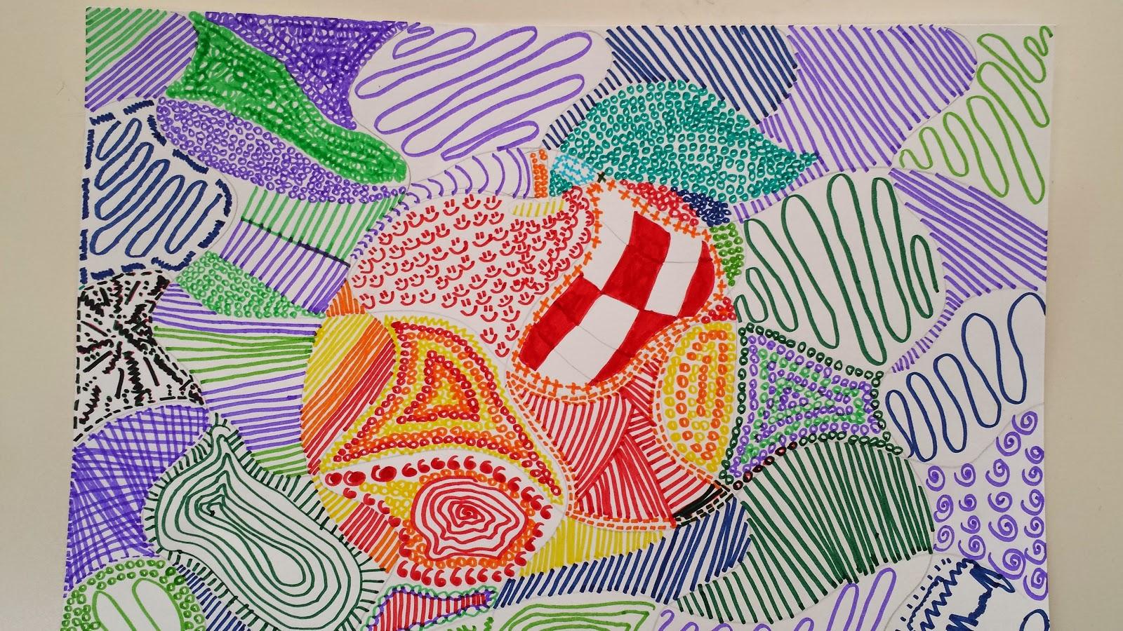 Dietro il dipinto texture a colori freddi e caldi - Immagine dell albero a colori ...