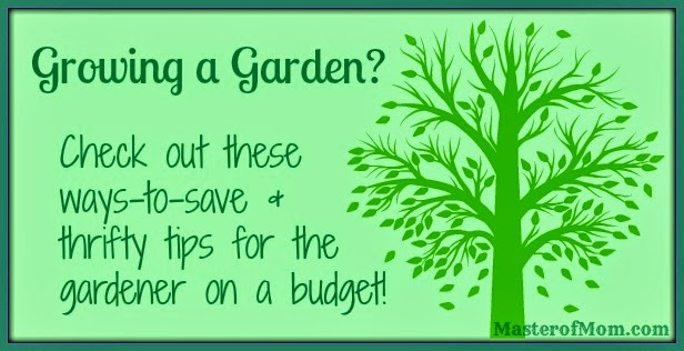 Thrifty Garden Tips