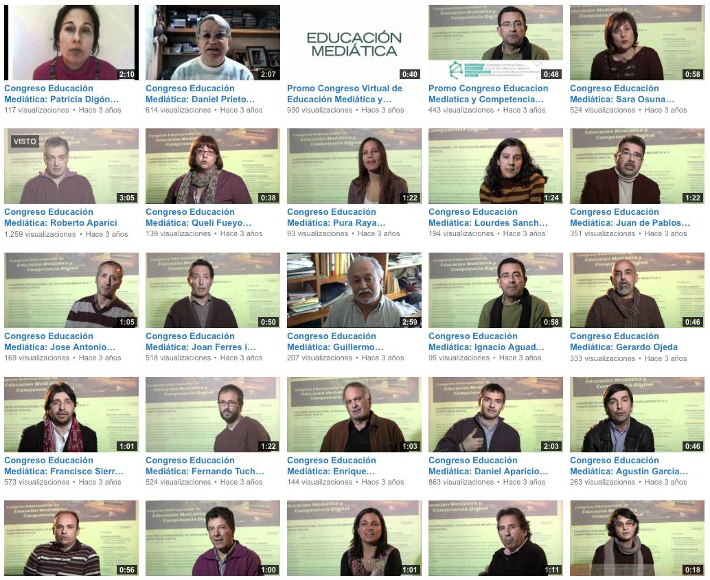 https://www.youtube.com/user/educacionmediatica/videos