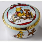 Bilston and Battersea Enamels ( Winnie the pooh )