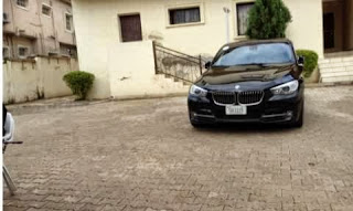 Jonathan's 'Dog', Doyin Okupe Receives Car Gift [PICTURED]