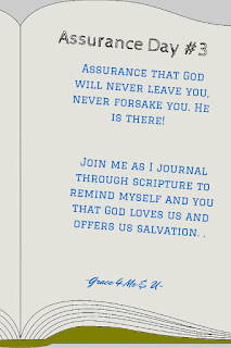 God inspired the word of each writer of the Bible. As we work through day 3 of our assurance Scripture journaling may God inspire you. May you breath in the truth of God's love and exhale the lies you have been told. | Grace 4 Me & U