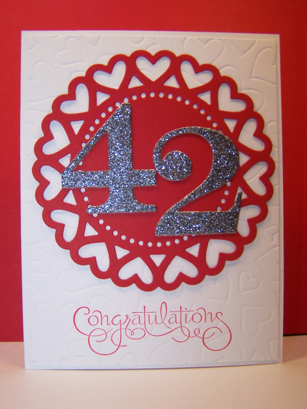 My stamping and beading therapy belated anniversary wishes darnell belated anniversary wishes darnell mister m4hsunfo
