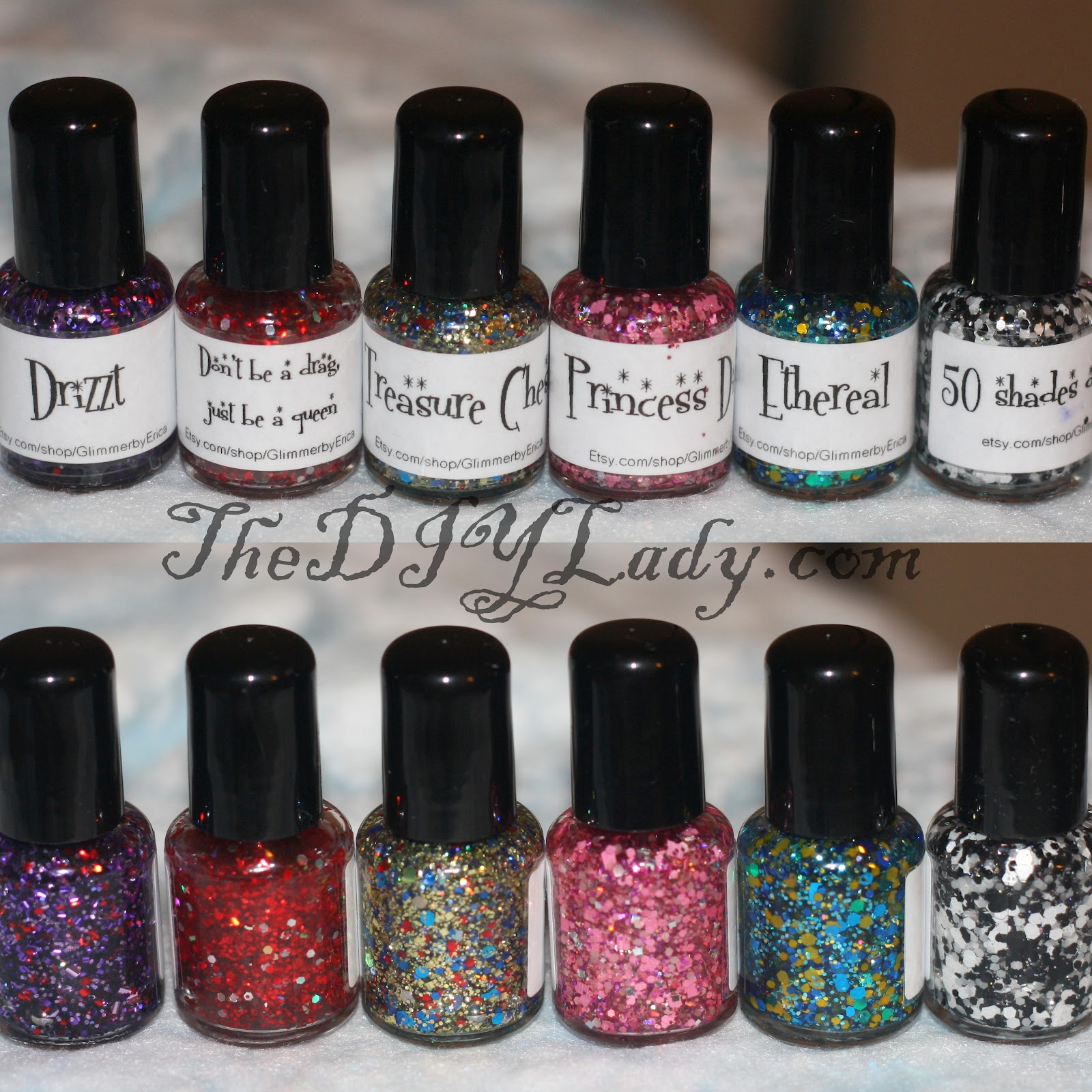 The Do It Yourself Lady: Swatches and Review: Glimmer by Erica Indie ...