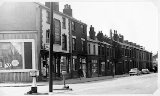 Milestone Inn 5-7 Deane Road Bolton pictured in 1964
