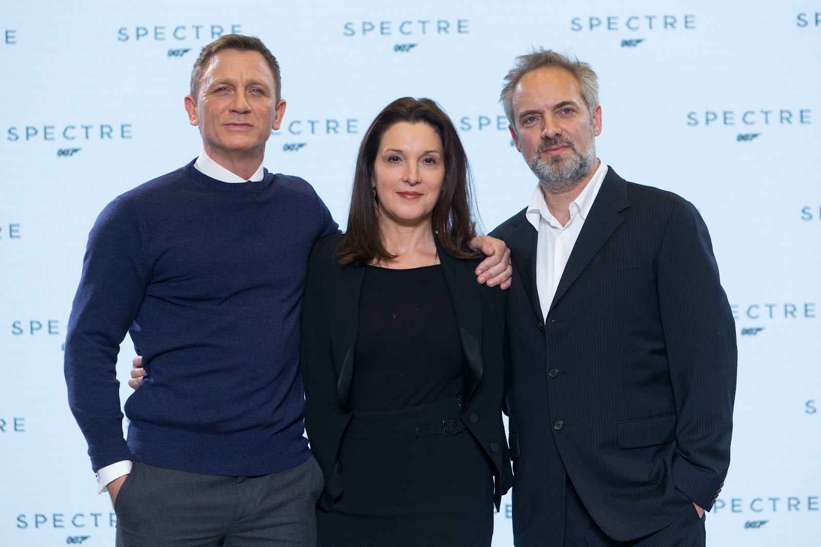 SPECTRE Daniel Craig, Barbara Broccoli, Sam Mendes