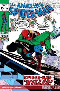 Amazing Spider-Man #90. Death of Captain Stacy