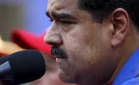 El presidente Nicolás Maduro tiene la marca de la bestia.