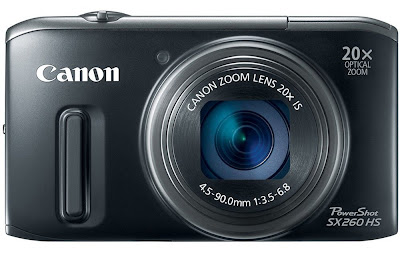 Canon PowerShot SX260 Black