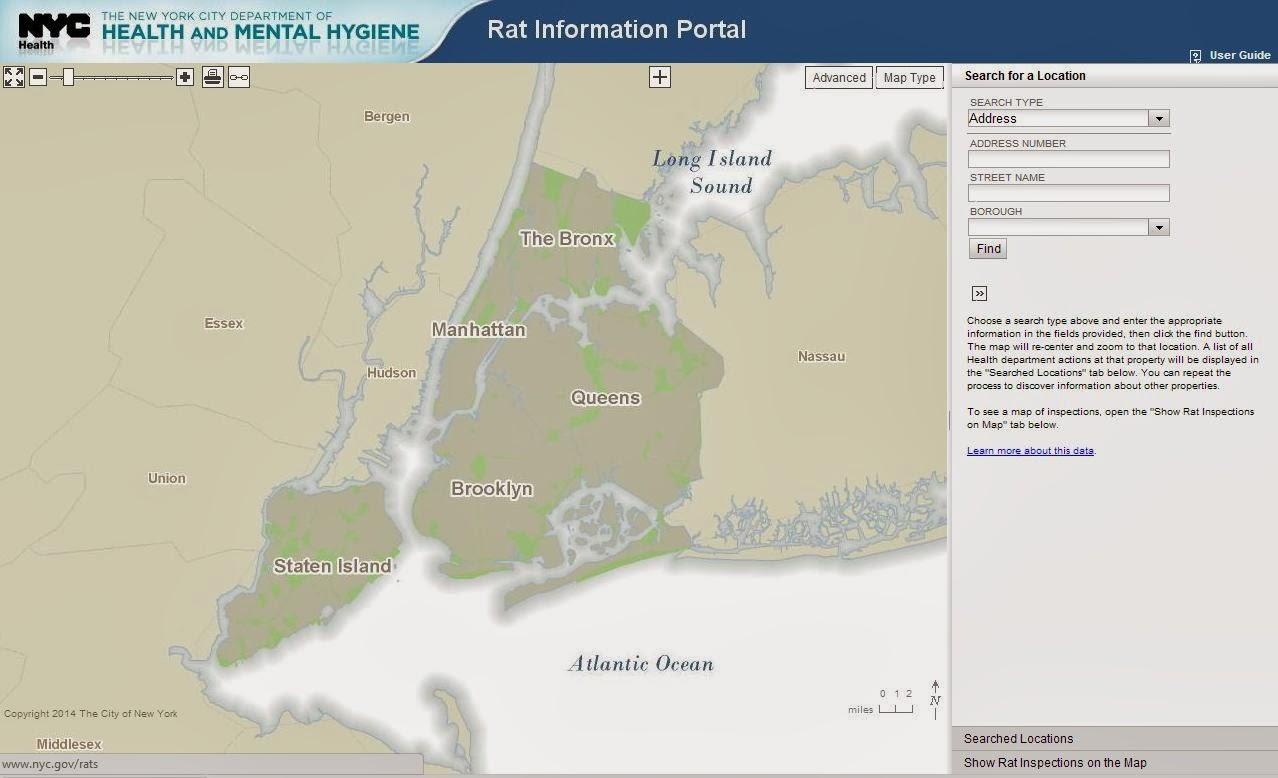 New York History Geschichte Die Rattenkarte - Nyc rat map