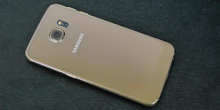 Bagian belakang Samsung Galaxy S6 EDGE replika