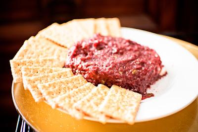 secret recipe club: cranberry salsa dip
