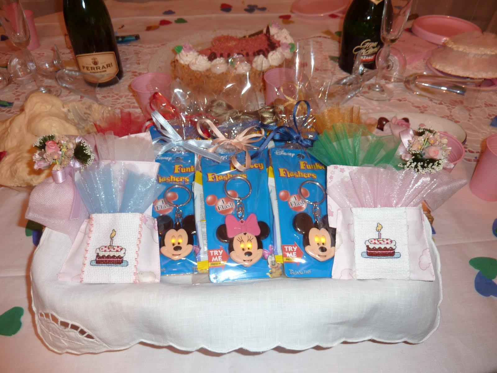 spesso Babùn e altro: Festa 1° compleanno a tema Minnie PC58