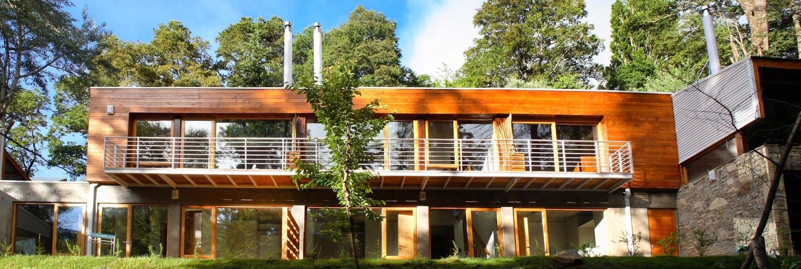 Arquitectos patagonia arquitectura san mart n de los for Arquitectura de hoteles