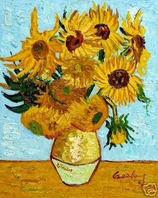 El mundo del color III Los girasoles de Van Gogh