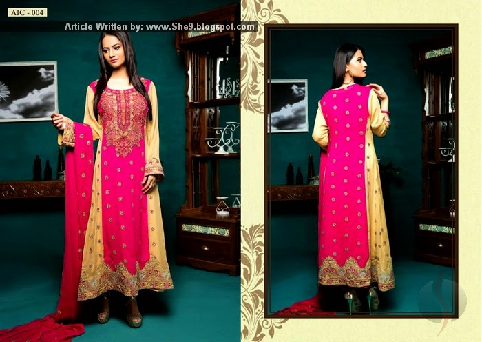 Amna Ismail Chiffon Dresses for Winter