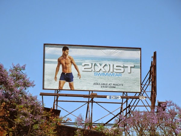 2Xist mens swimwear billboard