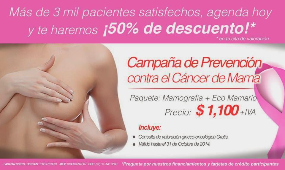 Campaña de promocion contra el cancer de mama mamografia eco mamario
