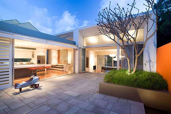 House design modern australian modern house plans for Home designs australia