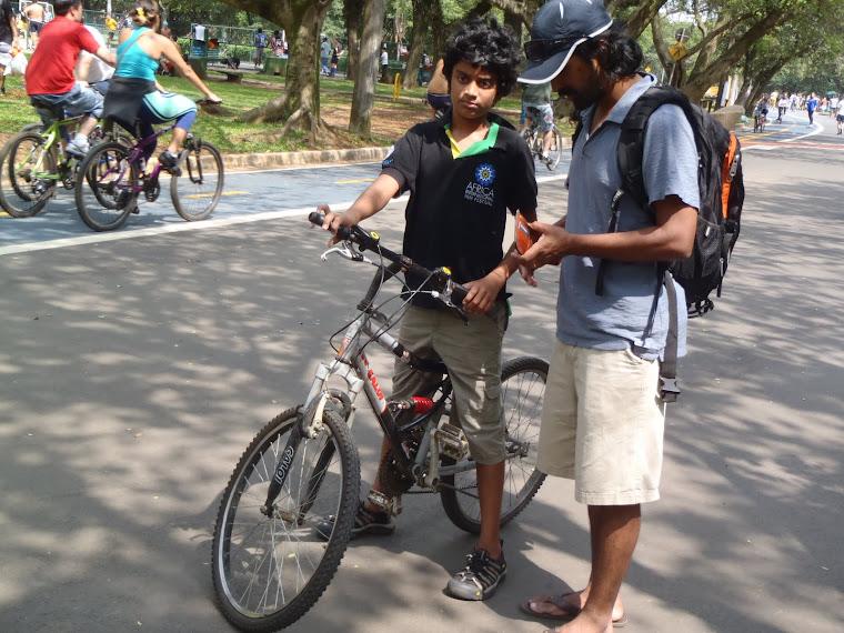Cycling in Sao Paulo