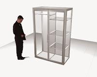 furniture kantor semarang - desain lemari kaca